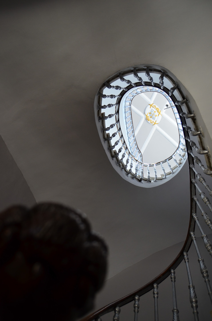 Rehabilitación de Palacete Neoclasicista. Gastronomía de estilo ecléctico de ZimmeR designer Ecléctico