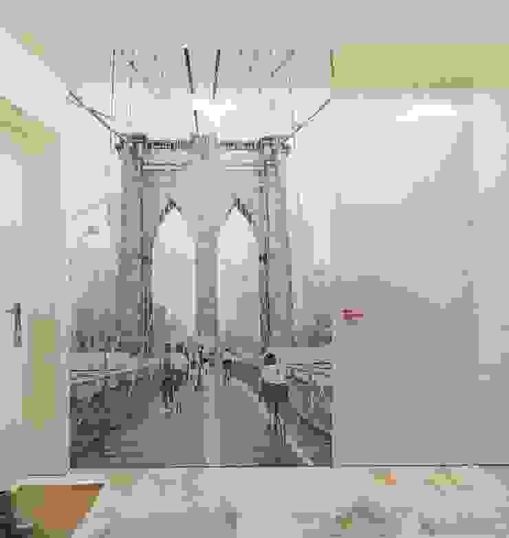 industrial style corridor, hallway & stairs by Katerina Butenko Industrial