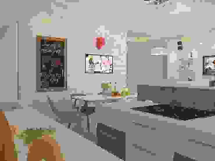 Industrial style kitchen by Katerina Butenko Industrial