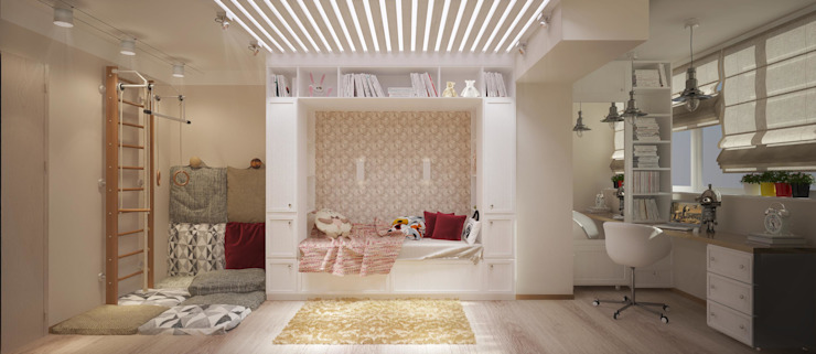 Nursery/kid's room by Katerina Butenko, Industrial