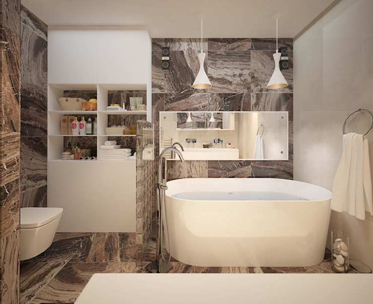 Industrial style bathroom by Katerina Butenko Industrial
