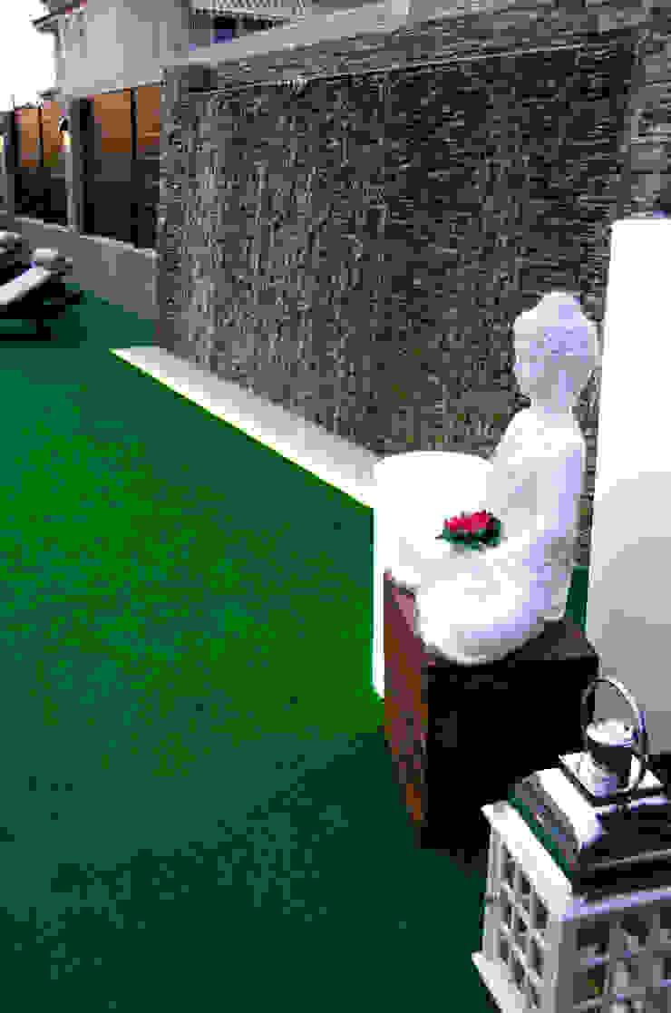 espacio de relajación exterior Piscinas de estilo moderno de ZimmeR designer Moderno