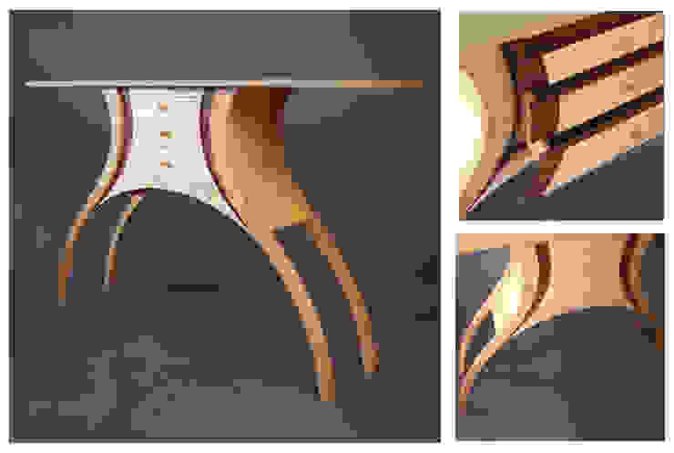 Side Table: modern  by Cadman Furniture, Modern