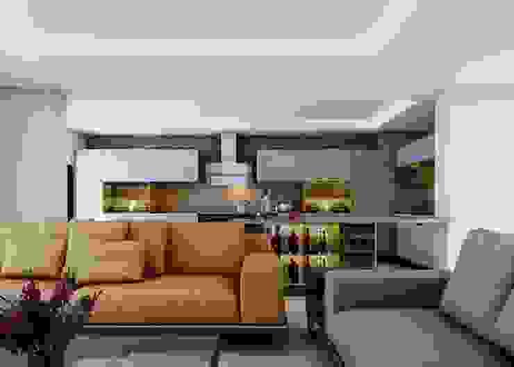 Ankarada bir ev Modern Oturma Odası homify Modern