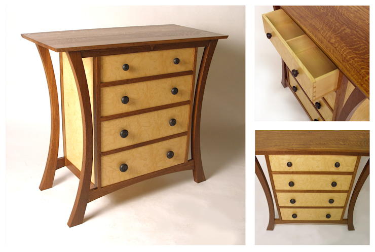 Chest of drawers: modern  by Cadman Furniture, Modern