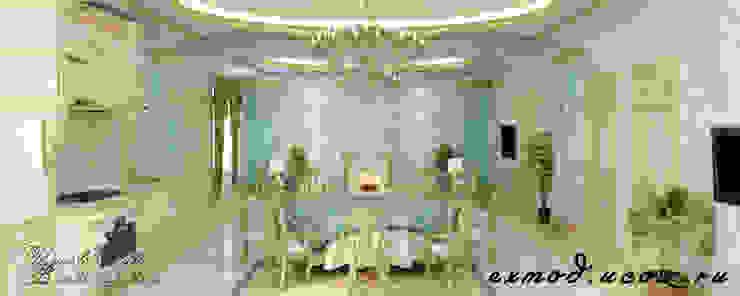Дизайн интерьера в классическом стиле в Чечне Гостиная в классическом стиле от Цунёв_Дизайн. Студия интерьерных решений. Классический