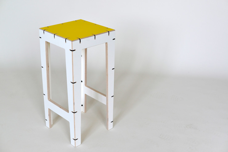 CABLE bar stool: modern  by AH designs, Modern