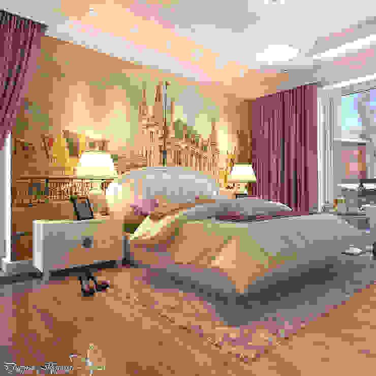 Guest bedroom Спальня в классическом стиле от Your royal design Классический