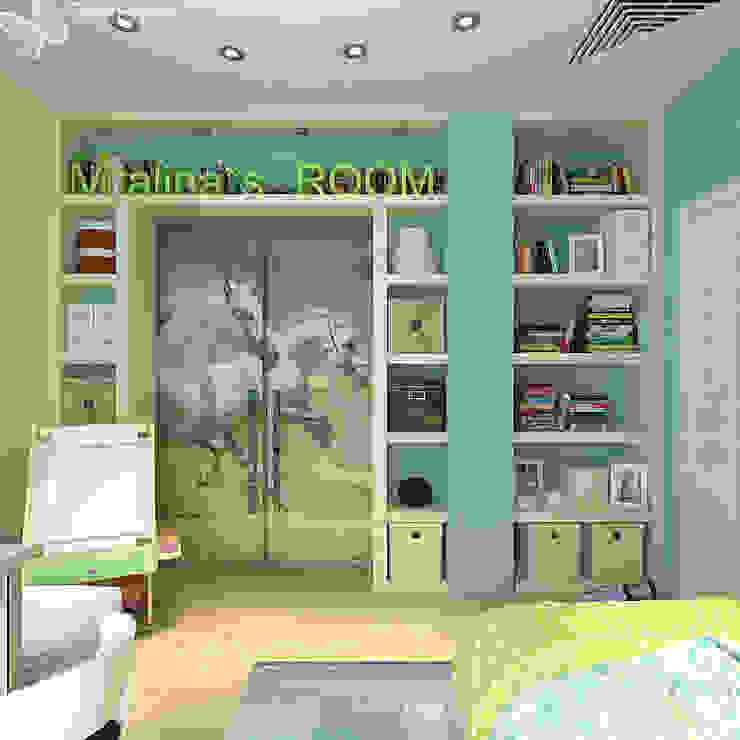 Children's room for a girl with dressing room Детская комнатa в классическом стиле от Your royal design Классический