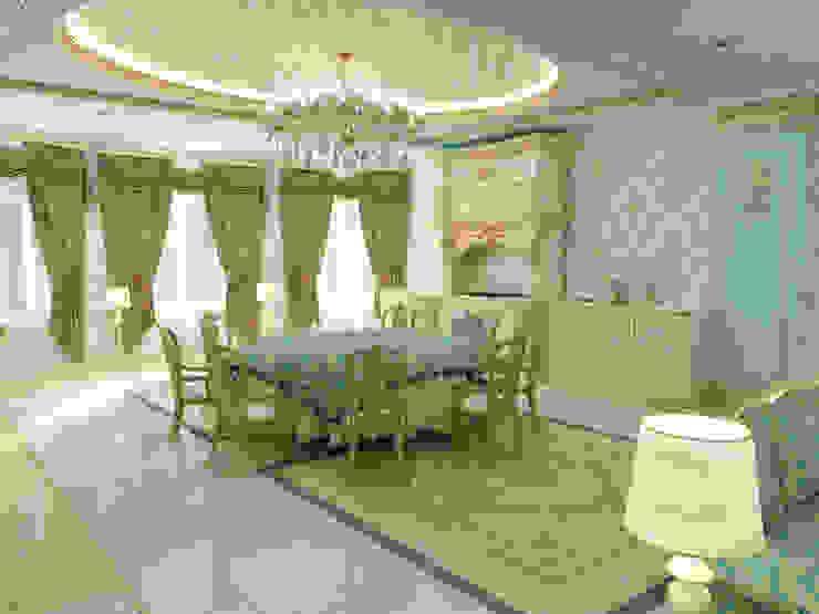 Дизайн интерьера в классическом стиле в Чечне Кухня в классическом стиле от Цунёв_Дизайн. Студия интерьерных решений. Классический