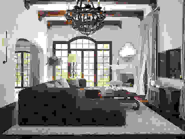 Mediterranean style living room by NEUMARK Mediterranean