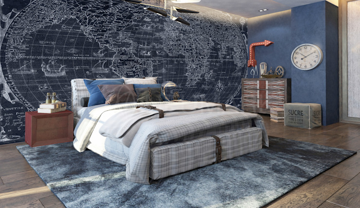 Luxury Apartment on Varshavskaya St., St-Petersburg, Russia Детские комната в эклектичном стиле от NEUMARK Эклектичный