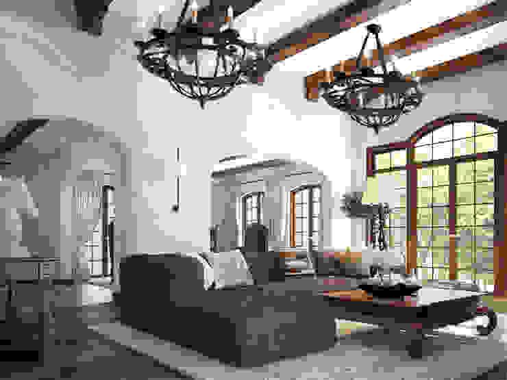 غرفة المعيشة تنفيذ Anton Neumark, بحر أبيض متوسط