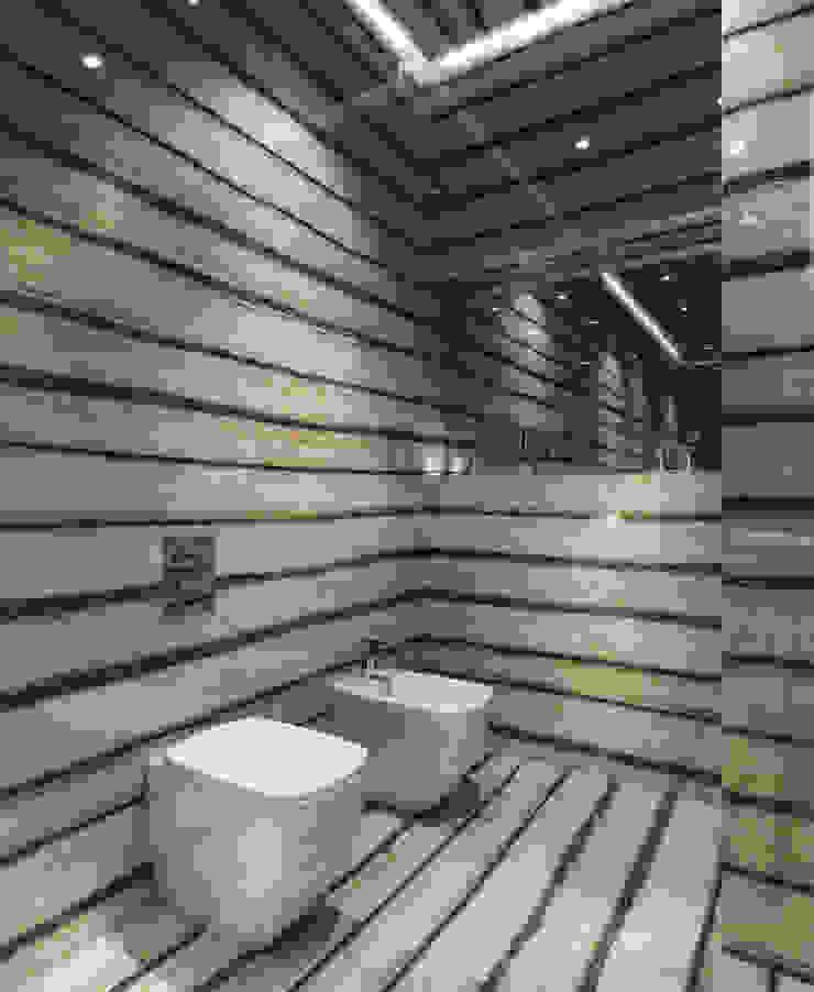 Bowmont Residence, LA, USA Ванная комната в эклектичном стиле от NEUMARK Эклектичный