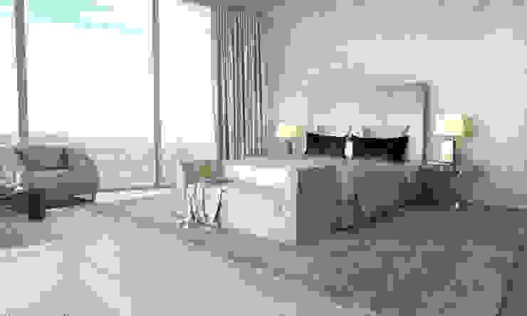 Bowmont Residence, LA, USA Спальня в эклектичном стиле от NEUMARK Эклектичный