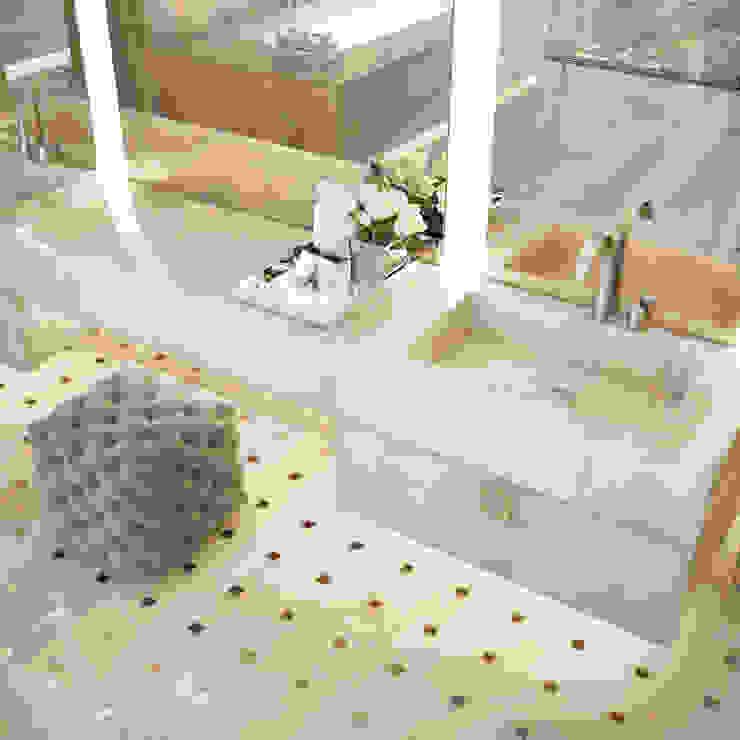 Casas de banho ecléticas por NEUMARK Eclético
