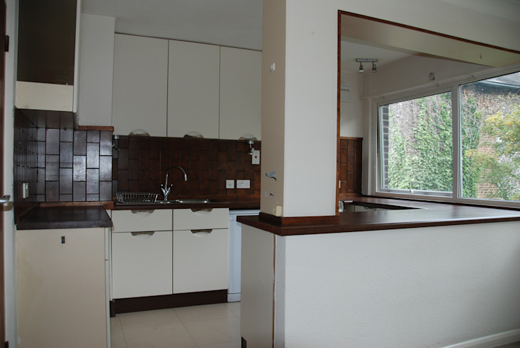 Before photo of kitchen by The Kitchen Makeover Shop Ltd