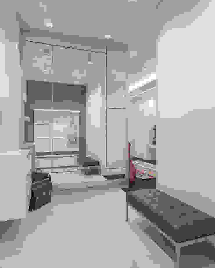 ЖК <q>Вертикаль</q> Коридор, прихожая и лестница в модерн стиле от Вадим Бычков Модерн