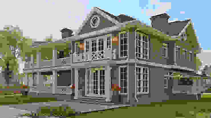 Casas de estilo clásico de Вадим Бычков Clásico