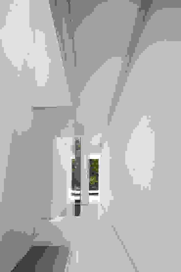 Pasillos, vestíbulos y escaleras de estilo moderno de NEED21 ASSOCIATES Moderno