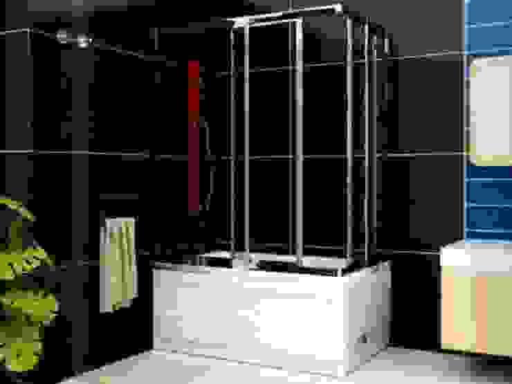 Mediterranean style bathroom by DUŞART DUŞAKABİN Mediterranean