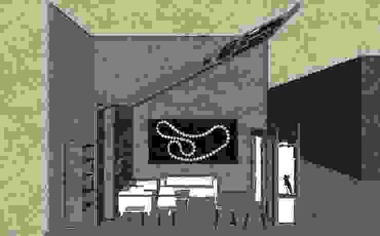 Schizzo in sezione. Allestimenti fieristici in stile classico di Studio Arch. Matteo Calvi Classico
