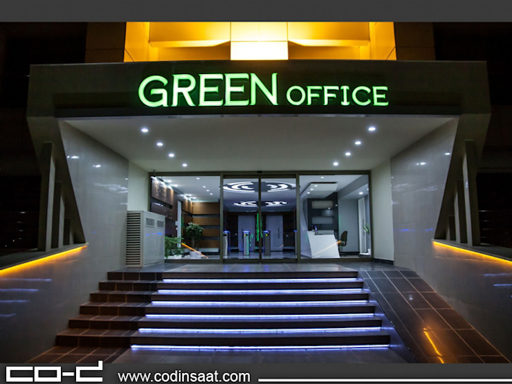 Green Offıce – Çukurambar T-COD Mimarlık Ltd. Modern