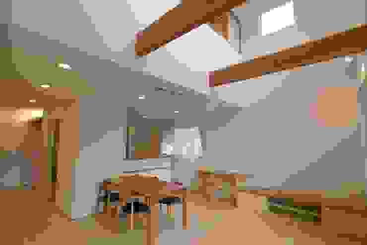 ダイニングスペース オリジナルデザインの ダイニング の 伊達剛建築設計事務所 オリジナル