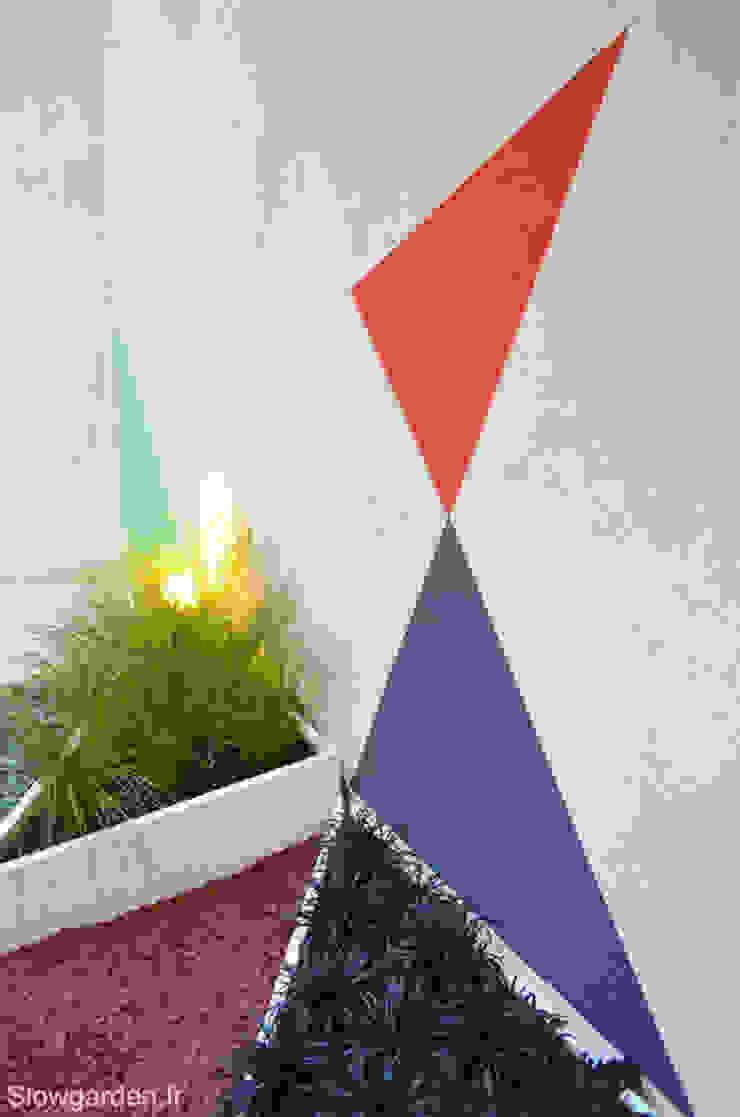Moderne tuinen van Slowgarden Modern