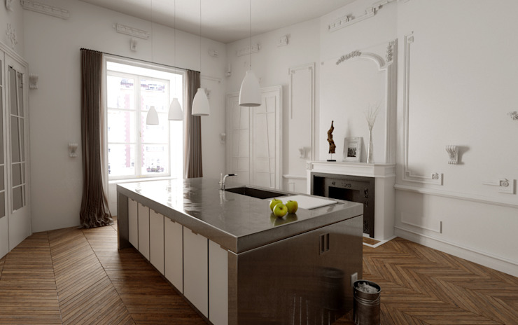 Kitchen by New Home Agency