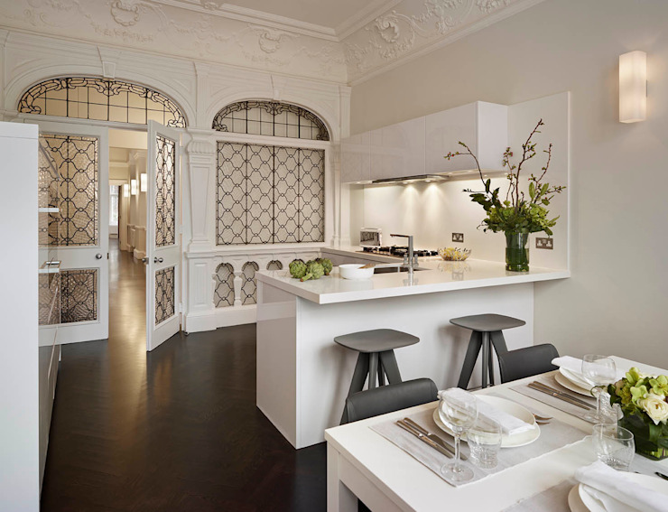 London Charm Dapur Modern Oleh Elan Kitchens Modern