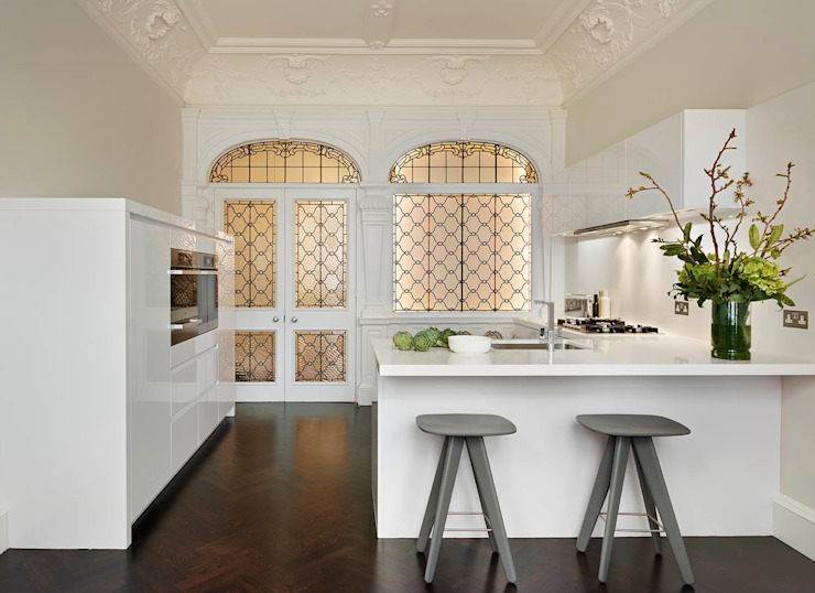 London Charm Moderne keukens van Elan Kitchens Modern