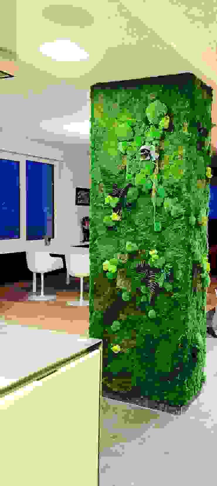 Phòng ăn phong cách chiết trung bởi Green Mood Chiết trung