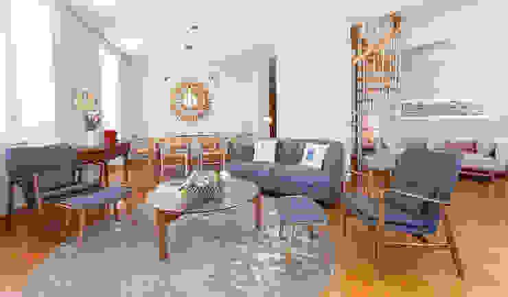 Living room Salas de estar modernas por Staging Factory Moderno