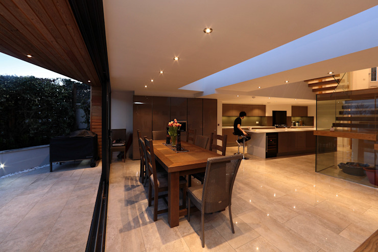 Tolmers Park Modern kitchen by Nicolas Tye Architects Modern