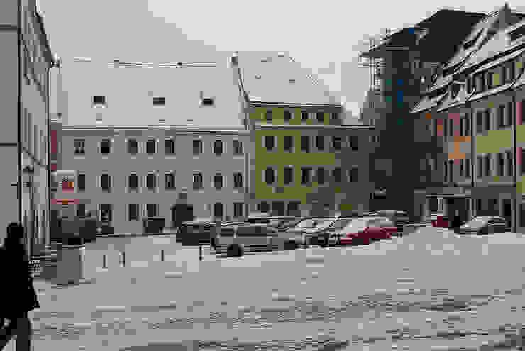 """vor der Restaurierung   Gebäudeensemble Markt 19 - """"Hotel Weisser Schwan"""", Markt 20 - """"Napoleon Haus"""" Seidel+Architekten"""