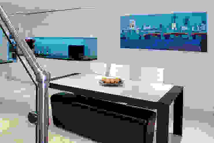 Interior House Remodelling, London E14 Nic Antony Architects Ltd Modern dining room