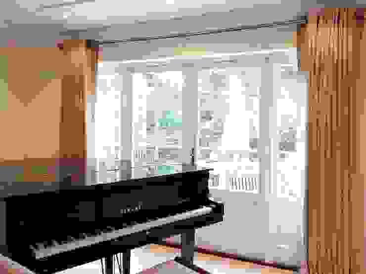 Bespoke curtains Alf Onnie Janelas e portasCortinas e cortinados