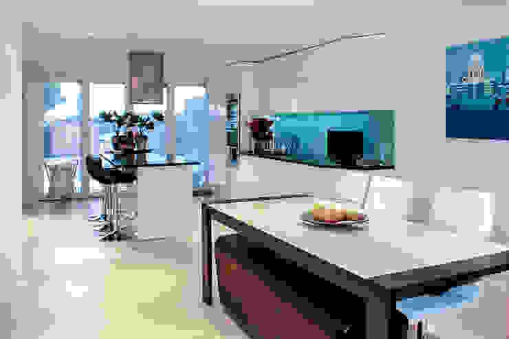 Interior House Remodelling, London E14 Nic Antony Architects Ltd Modern kitchen
