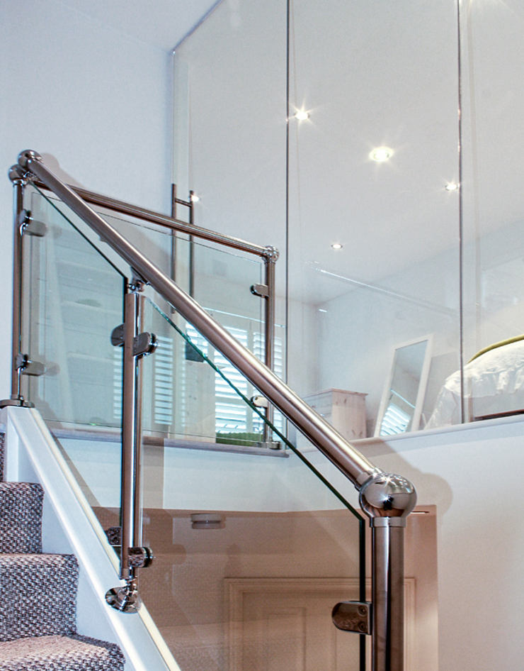 Interior House Remodelling, London E14 Nic Antony Architects Ltd Corridor, hallway & stairs Stairs