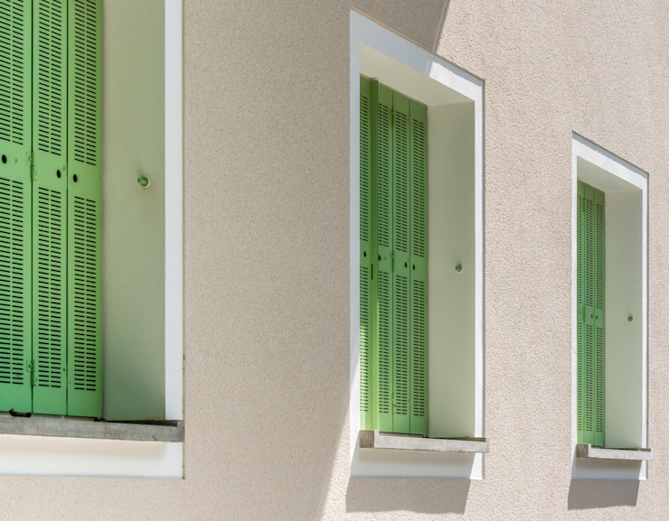 窗戶 by Architekturbüro Klaus Zeller, 古典風