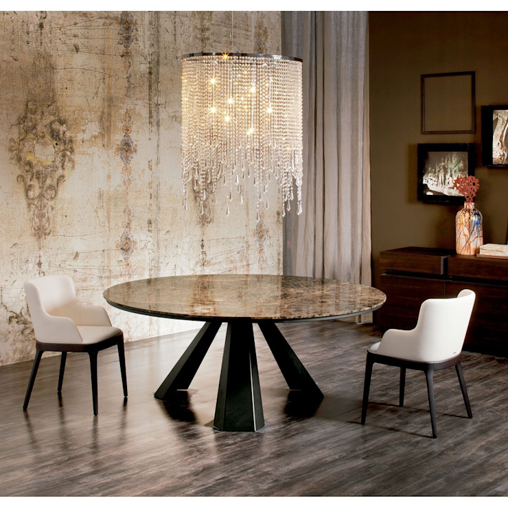 Eliot Round de Cattelan Italia, mesa de comedor de Ociohogar Moderno