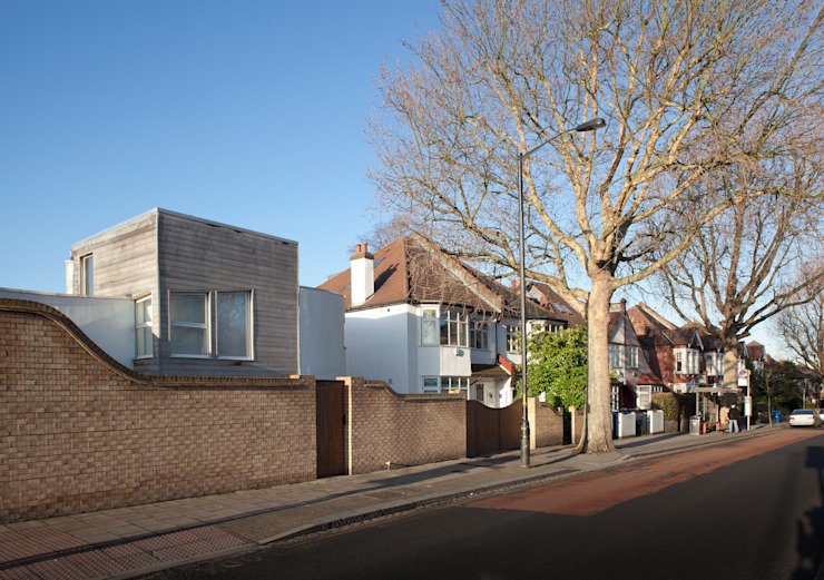 The Camberwell Curve Nic Antony Architects Ltd Rumah Modern
