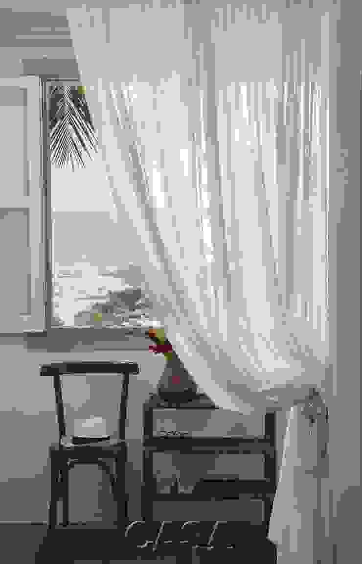 Casa Litoral Norte SP – <q>Alma Caiçara</q> Closets por AMMA PROJETOS Mediterrâneo