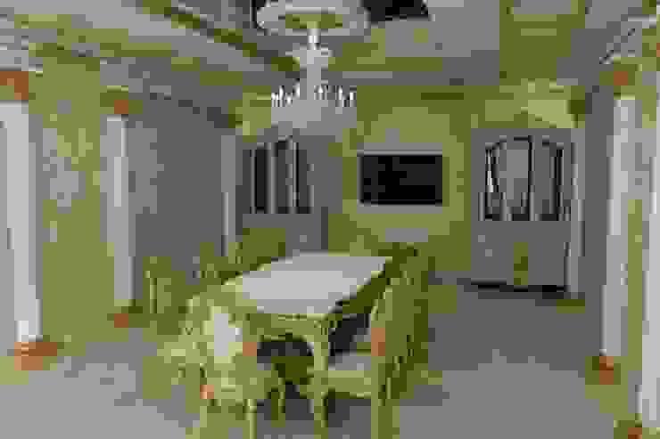 Столовая в стиле Барокко Столовая комната в классическом стиле от Цунёв_Дизайн. Студия интерьерных решений. Классический