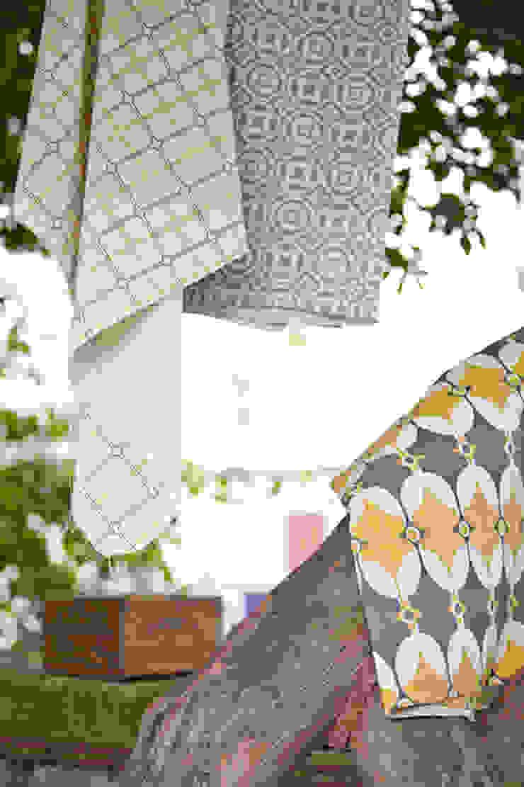 Cotton and linen hand screen printed fabrics. : scandinavian  by akin & suri, Scandinavian