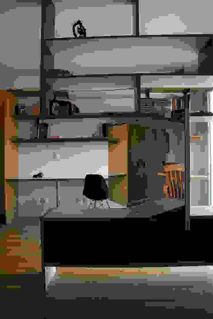 Interior | Apartamento – II Salas multimídia modernas por ARQdonini Arquitetos Associados Moderno