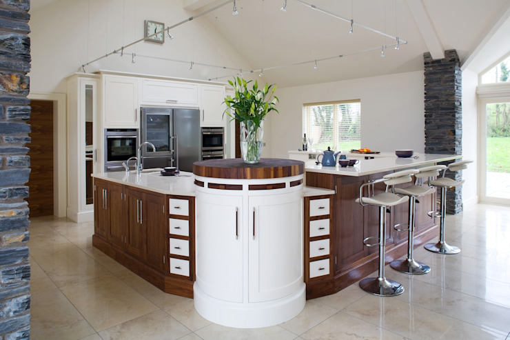 Walnut kitchens by Designer Kitchen by Morgan Classic
