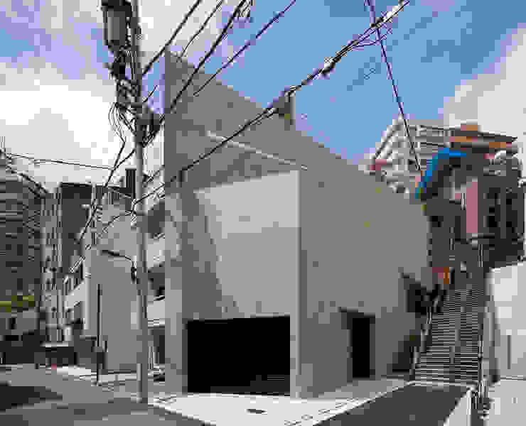 外観:全景 ミニマルな 家 の プライム建築都市研究所 ミニマル