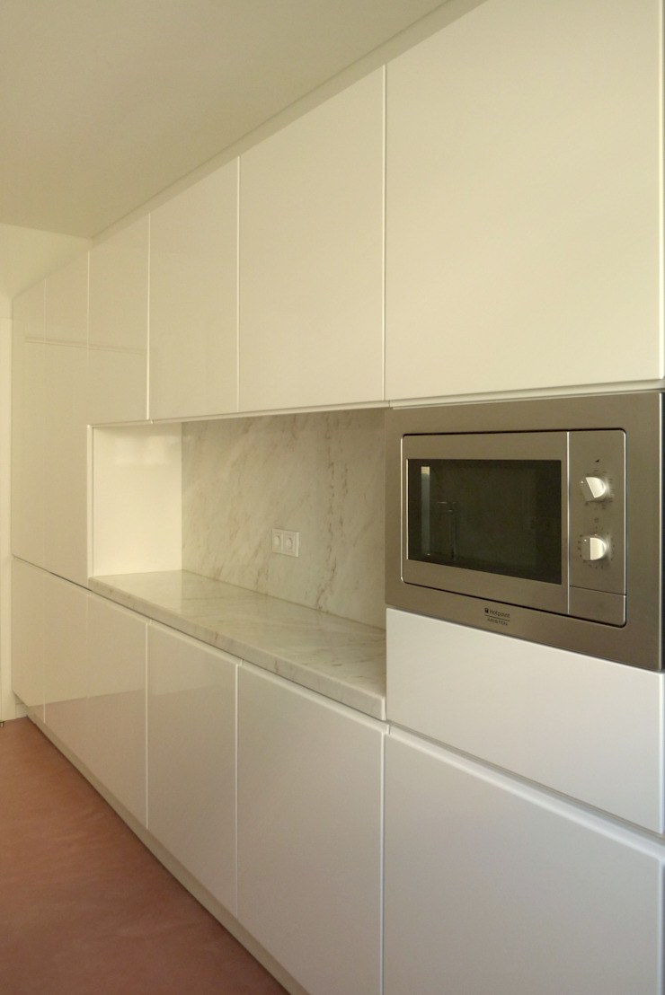 Apartamento na Av. Roma Cozinhas modernas por Atelier da Calçada Moderno